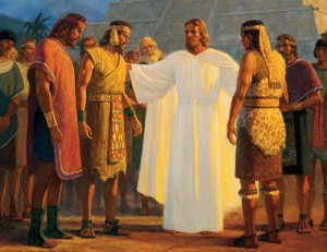 Christ Visits Book of Mormon People