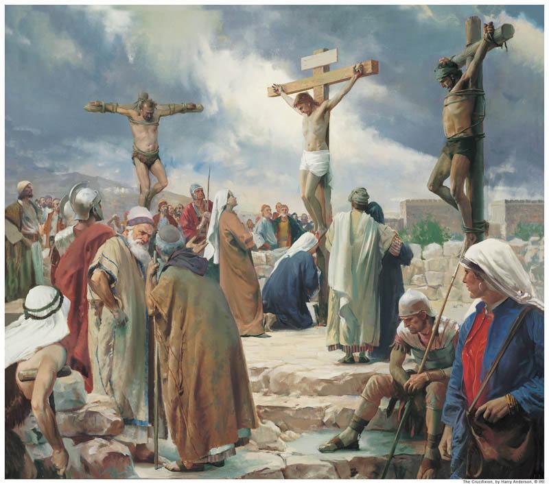 Crucifixion Mormonism