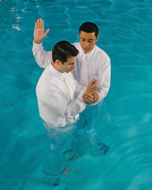 Baptism Mormonism