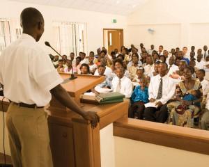 Mormon Church Meeting