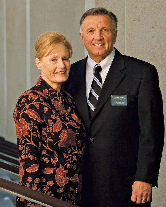Senior Mormon Missionaries