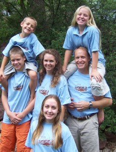 Mormon family at Reunion