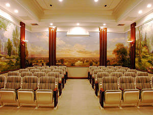 Hague Mormon Temple Endowment Room