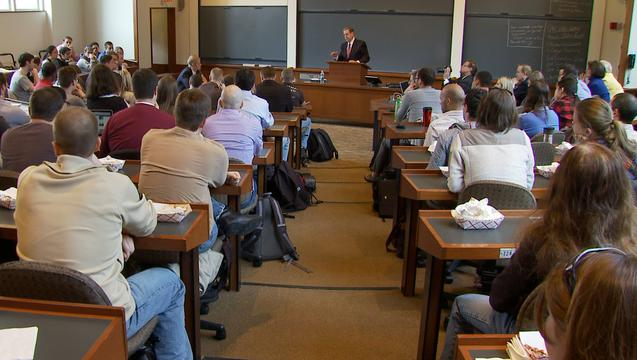 A Mormon Apostle Speaks to the Harvard Law School
